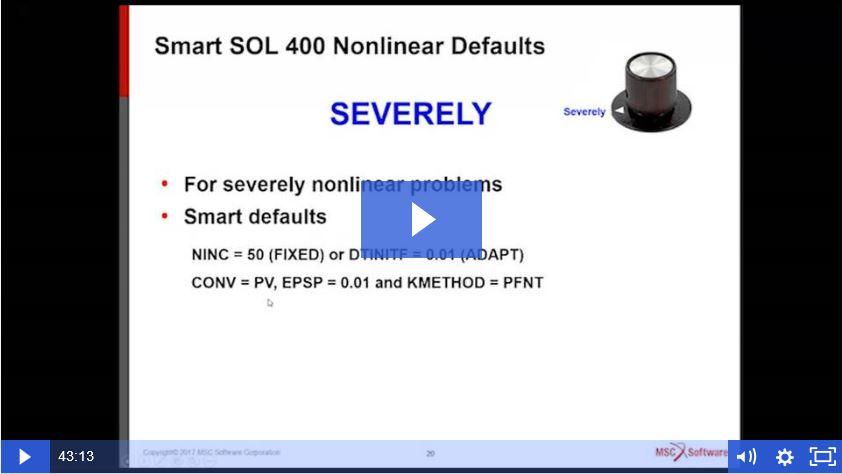 ¡Ya disponible el Webinar SOL 400: Estándares inteligentes para lograr una convergencia no lineal más rápida!