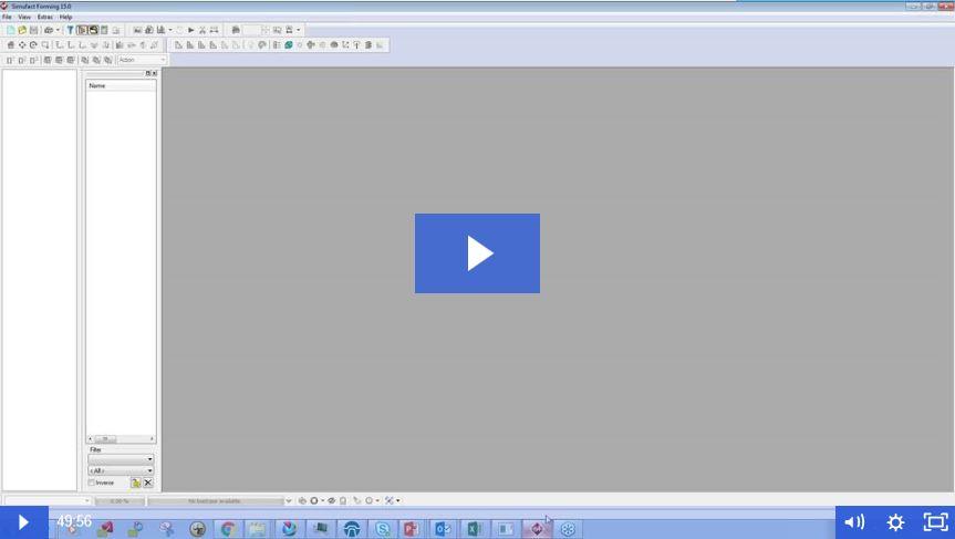 ¡Ya está disponible el webinar: Simufact Simulación de procesos de conformado en frío!